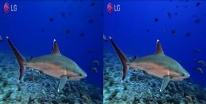 LG 3D sharks sbs free demo download