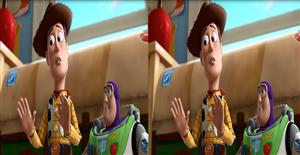 Toy Story 3 sbs 3D demo free