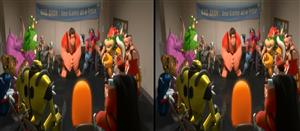 wreck it ralph demo 3d animated clip